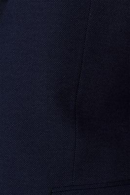 COMFORT SUIT mix + match: Textured jacket, NAVY, detail