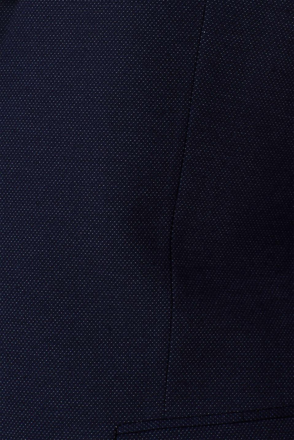COMFORT SUIT mix + match: Textured jacket, NAVY, detail image number 5