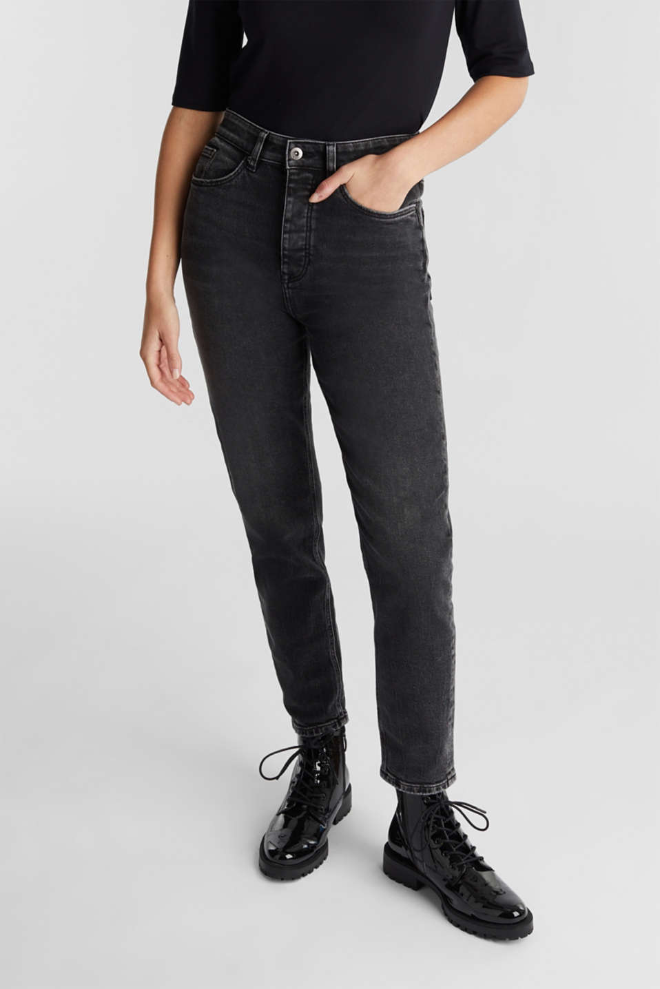 edc - Mom jeans met organic cotton