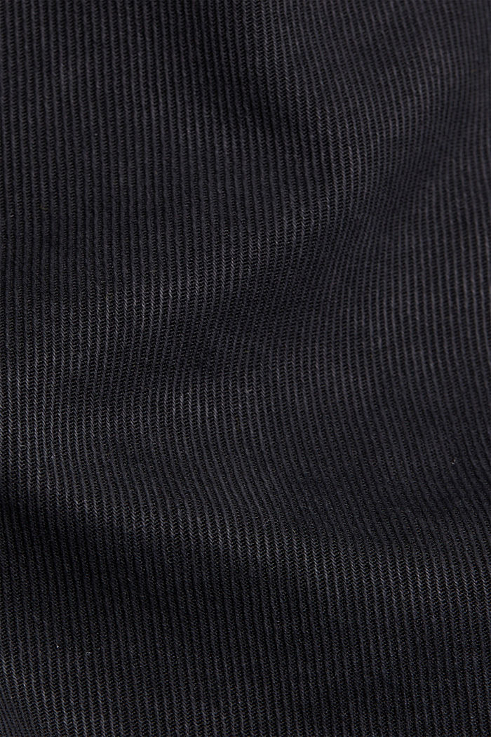 Super high-rise jeans with organic cotton, BLACK, detail image number 4