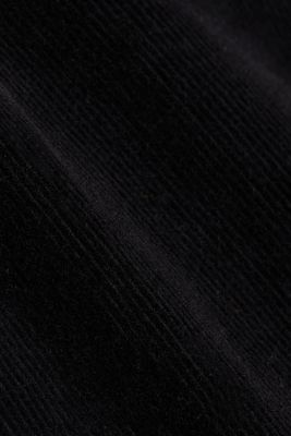 Stretch cord chinos, BLACK, detail