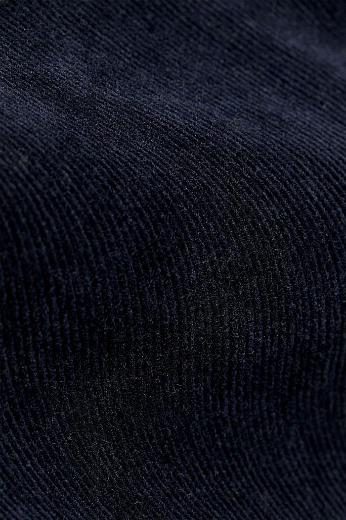 Stretch cord chinos, NAVY, detail image number 4