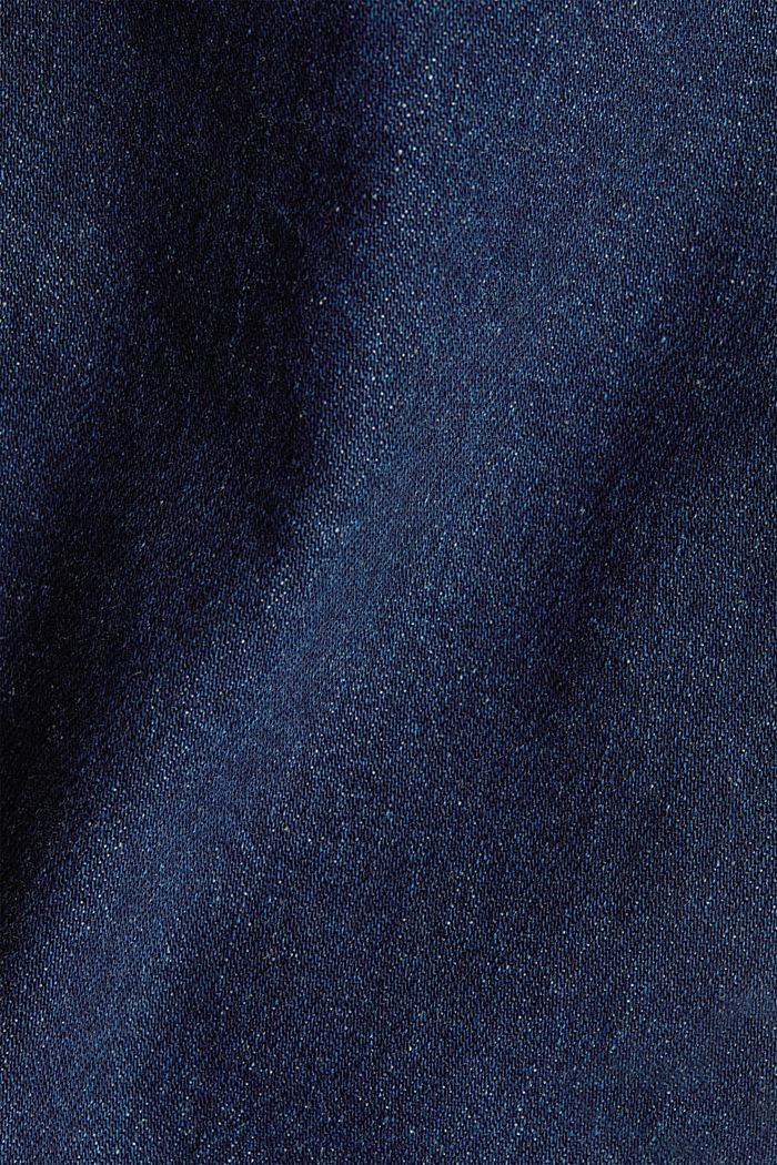 Skinny Jeans mit Organic Cotton, BLUE DARK WASHED, detail image number 4
