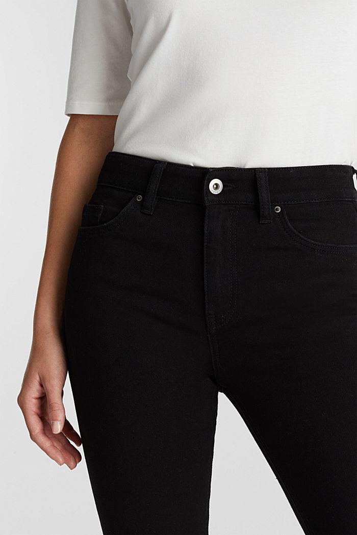 Jean skinny en coton bio, BLACK RINSE, detail image number 5
