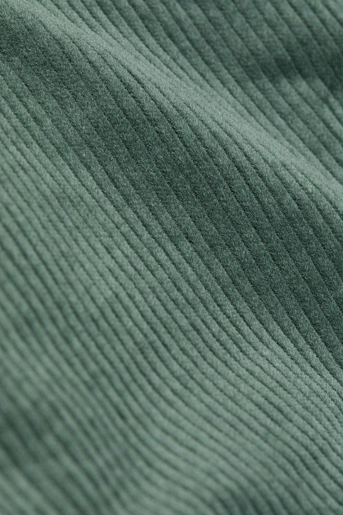 Corduroy mini skirt, LIGHT KHAKI, detail image number 4