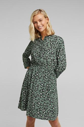 Shirt dress made of LENZING™ ECOVERO™