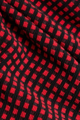 Dresses knitted, RED, detail