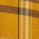 Karo-Bluse aus 100% Organic Cotton, BRASS YELLOW, swatch