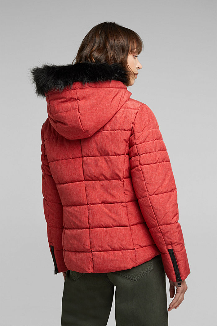 Recycled: jacket with 3M™ Thinsulate™ padding, RED, detail image number 3