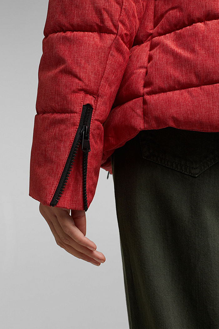 Recycled: jacket with 3M™ Thinsulate™ padding, RED, detail image number 2