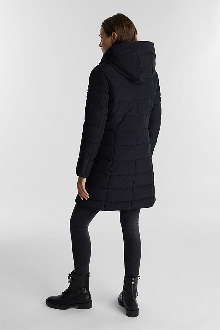 Recycled: coat featuring 3M™ Thinsulate™, BLACK, detail image number 3