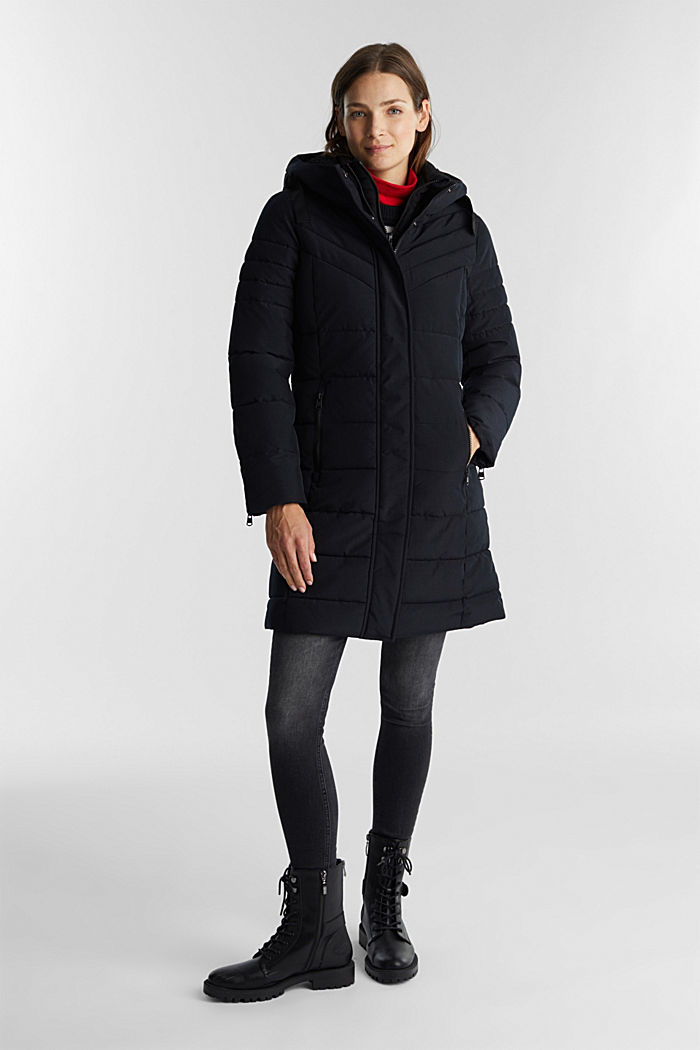 Recycled: coat featuring 3M™ Thinsulate™, BLACK, detail image number 1