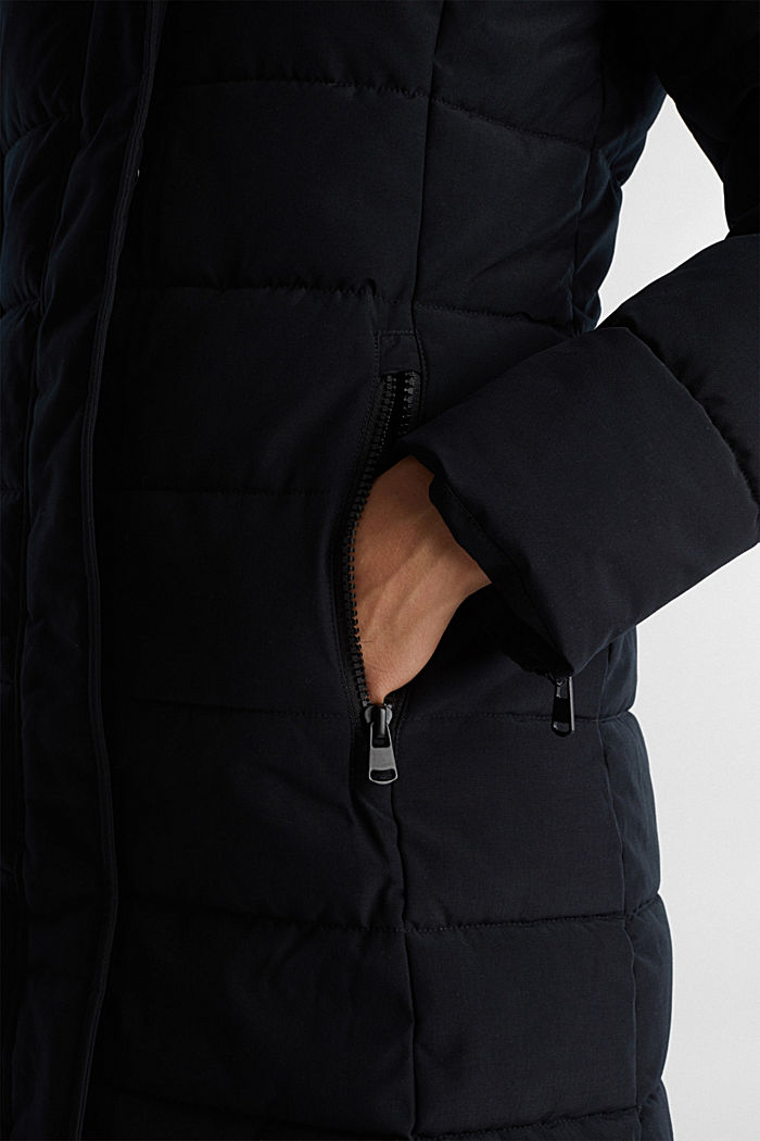 Recycled: coat featuring 3M™ Thinsulate™, BLACK, detail image number 5