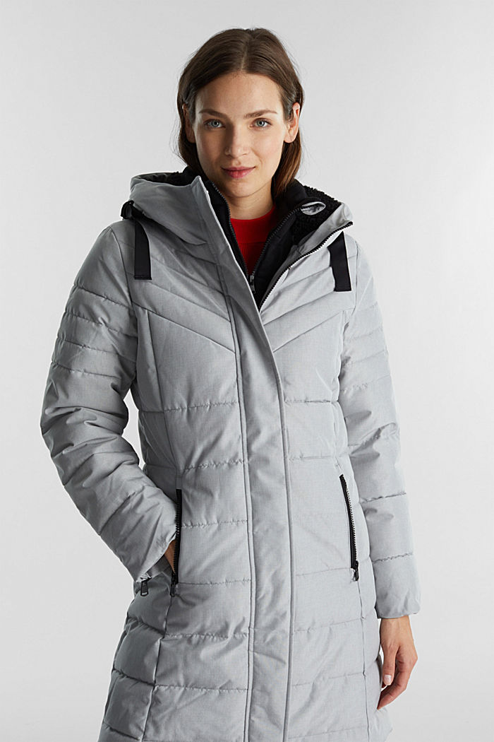 Recycled: coat featuring 3M™ Thinsulate™, LIGHT GREY, detail image number 6