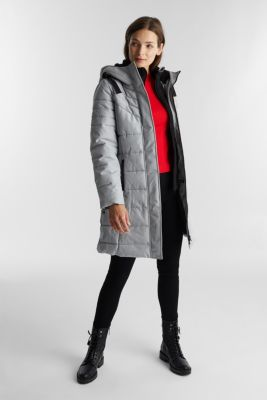 Recycled: coat featuring 3M™ Thinsulate™, LIGHT GREY 5, detail