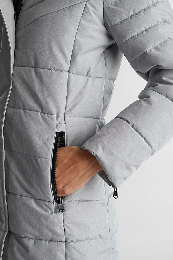 Recycled: coat featuring 3M™ Thinsulate™, LIGHT GREY, detail image number 5