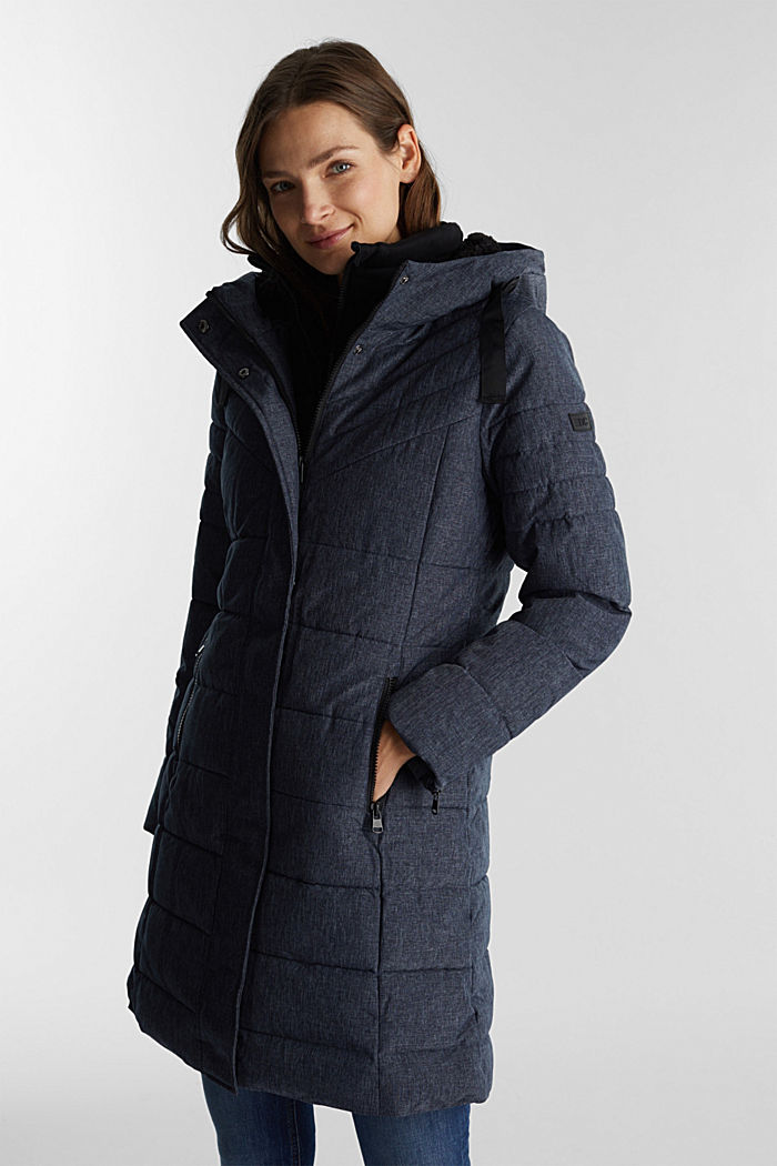 Recycled: coat featuring 3M™ Thinsulate™, NAVY, detail image number 0