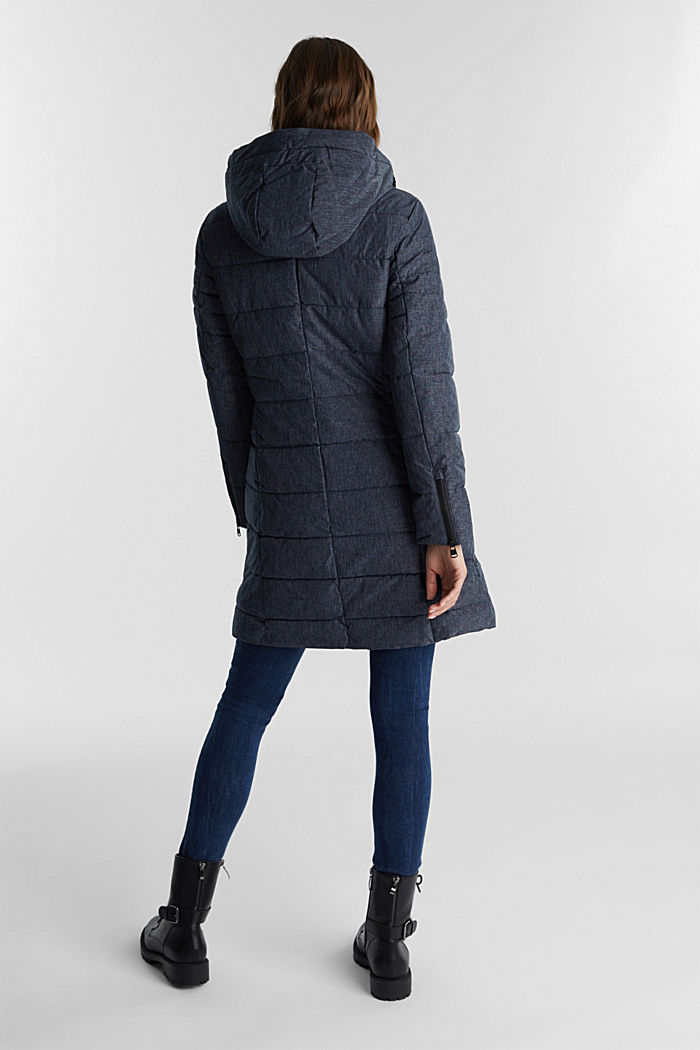 Recycled: coat featuring 3M™ Thinsulate™, NAVY, detail image number 3