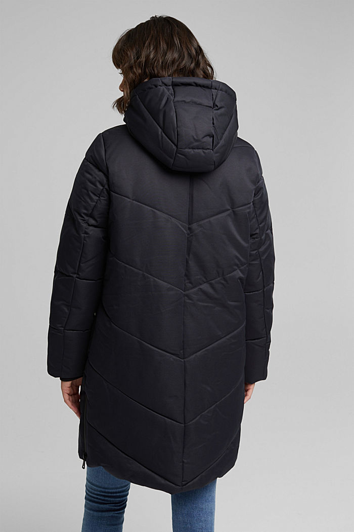 Quilted coat with 3M®Thinsulate filling, BLACK, detail image number 3