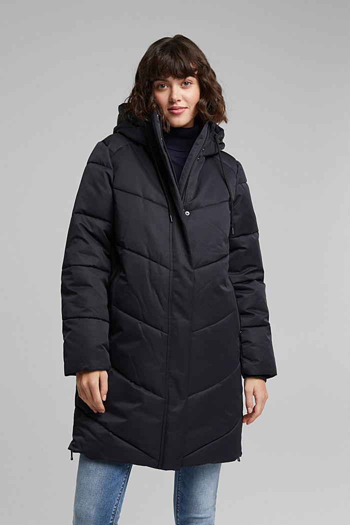 Quilted coat with 3M®Thinsulate filling, BLACK, detail image number 7