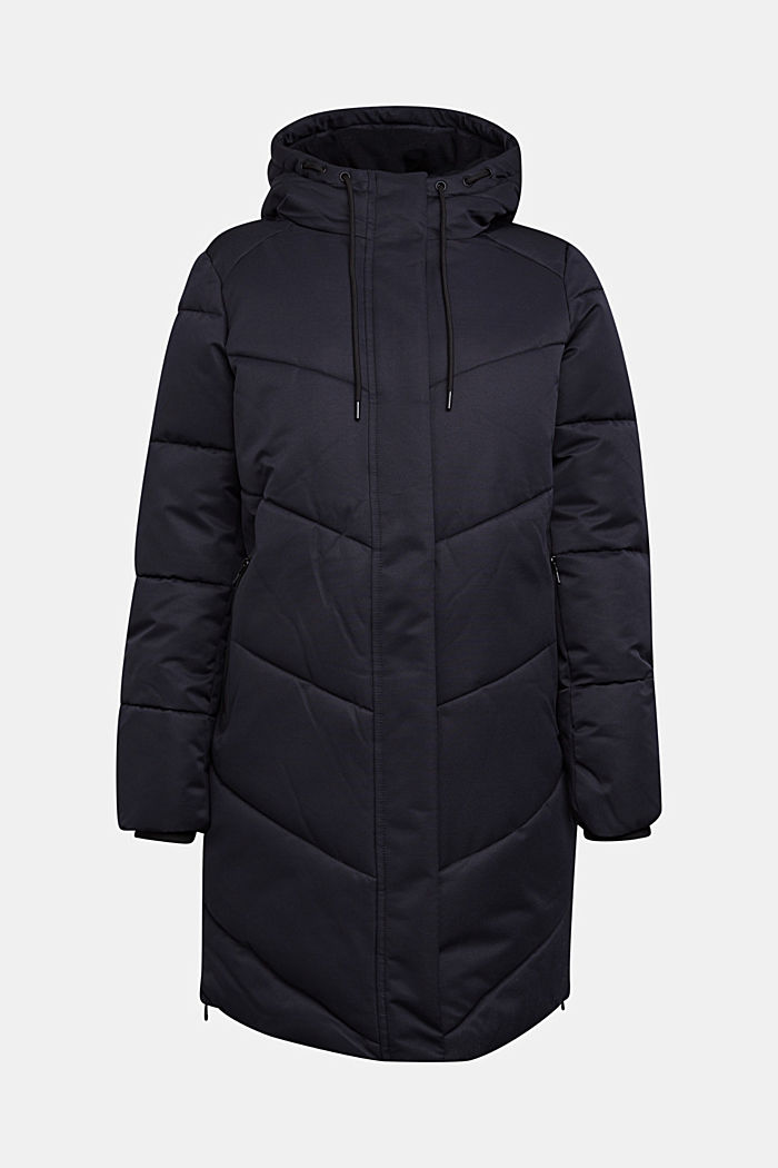 Quilted coat with 3M®Thinsulate filling, BLACK, detail image number 9