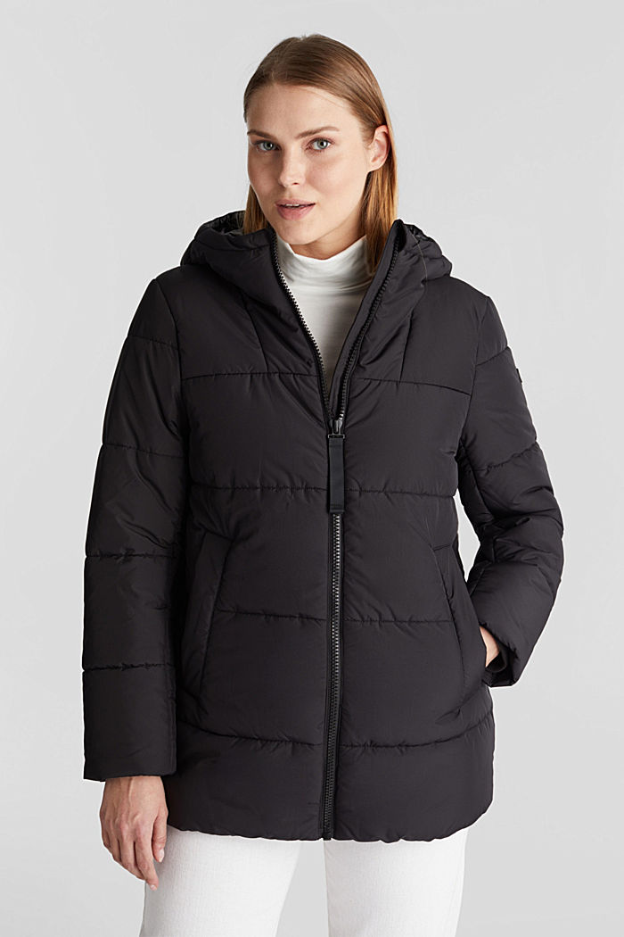 Quilted jacket with 3M™ Thinsulate™ filling, BLACK, detail image number 0