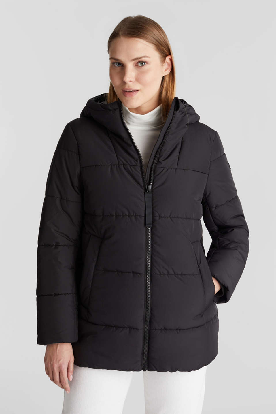 edc - Quilted jacket with 3M™ Thinsulate™ filling