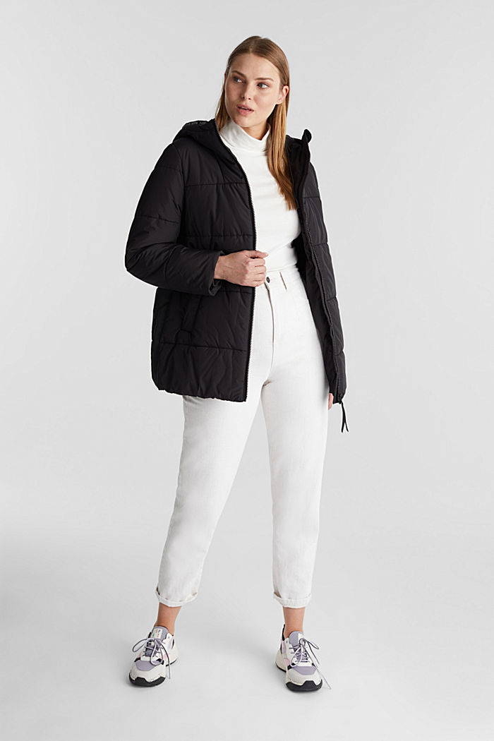 Quilted jacket with 3M™ Thinsulate™ filling, BLACK, detail image number 1
