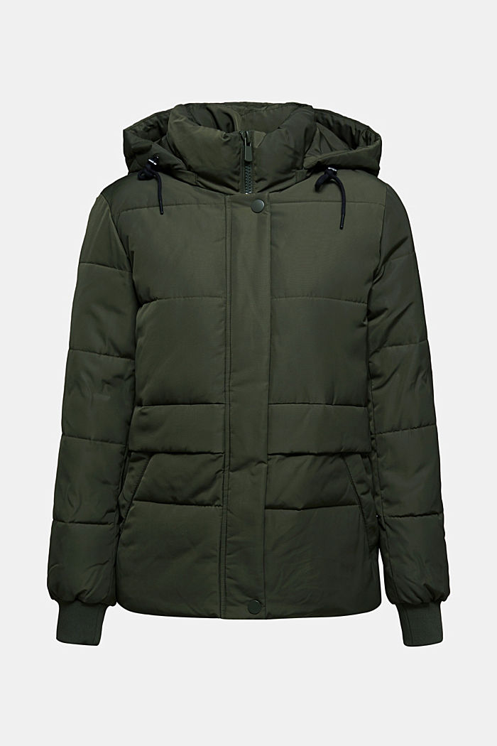 Recycled: Quilted jacket with 3M™ Thinsulate™, KHAKI GREEN, detail image number 5