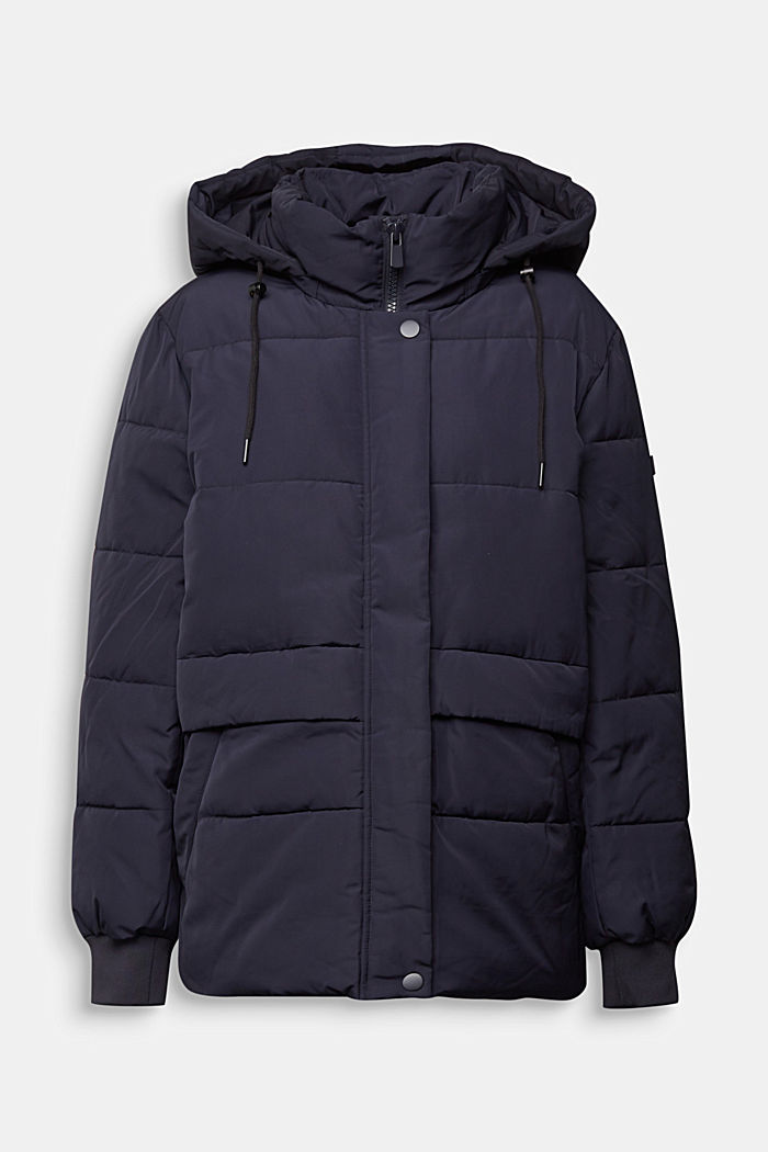 Recycled: Quilted jacket with 3M™ Thinsulate™, NAVY, detail image number 0