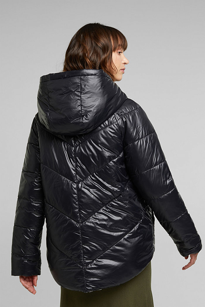 Reversible jacket made of 3M™ Thinsulate™, BLACK, detail image number 3