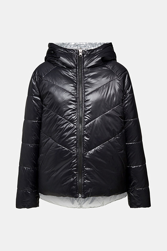 Reversible jacket made of 3M™ Thinsulate™, BLACK, detail image number 7