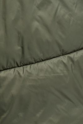 Recycled: incredibly lightweight quilted jacket, KHAKI GREEN, detail