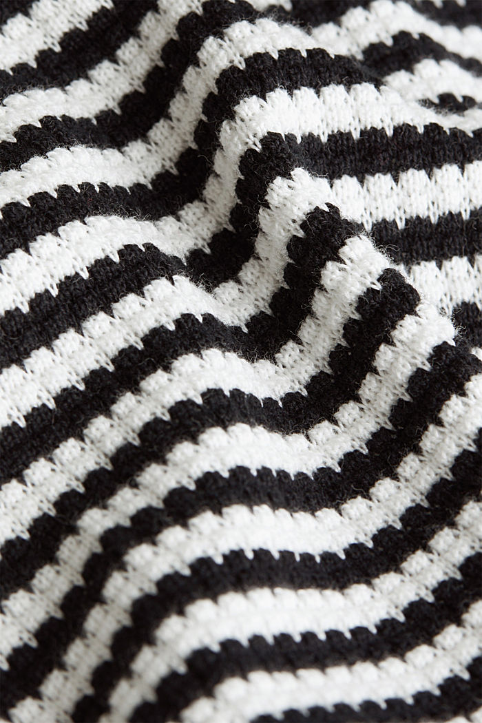 Jumper made of 100% organic cotton, BLACK, detail image number 4
