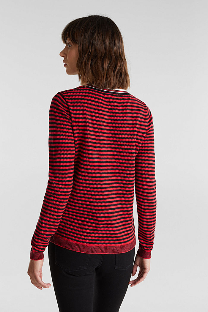 Jumper made of 100% organic cotton, RED, detail image number 3