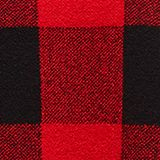 Jumper with jacquard checks, RED 4, swatch