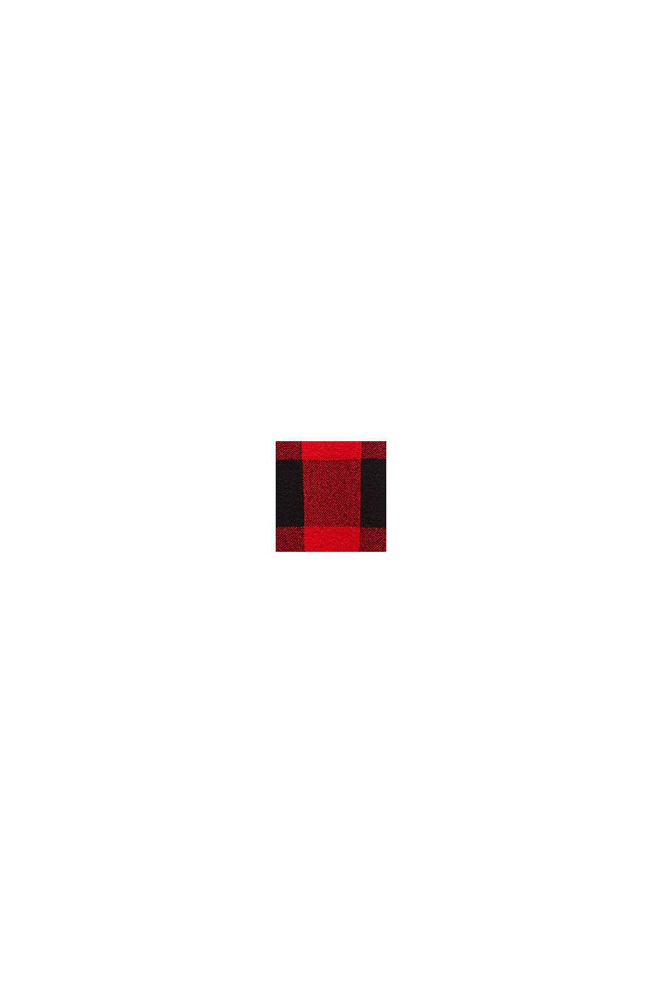 Pullover mit Jacquard-Karo, RED, swatch