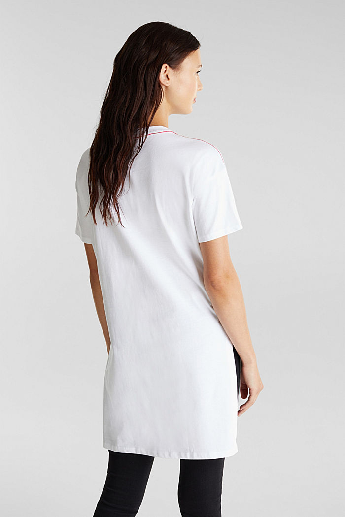 Statement-T-Shirt, 100% Organic Cotton, WHITE, detail image number 3
