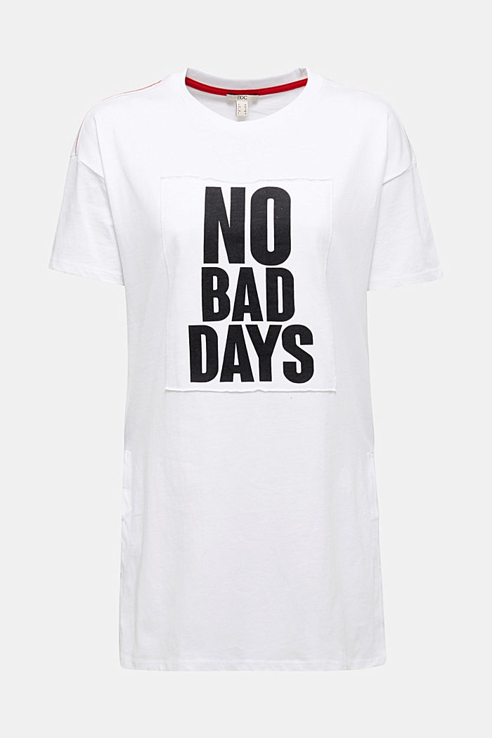 Statement T-shirt, 100% organic cotton, WHITE, detail image number 7