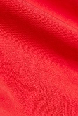 A statement T-shirt in 100% organic cotton, RED, detail