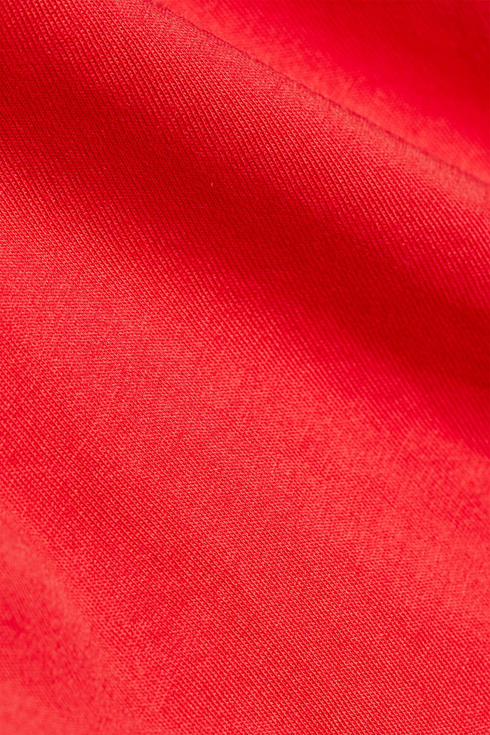 A statement T-shirt in 100% organic cotton, RED, detail image number 4