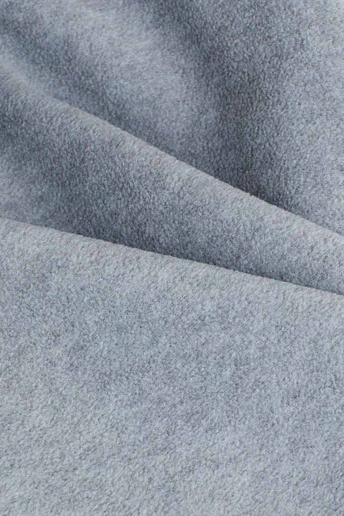 Fleece-Cardigan mit Kapuze, MEDIUM GREY, detail image number 4