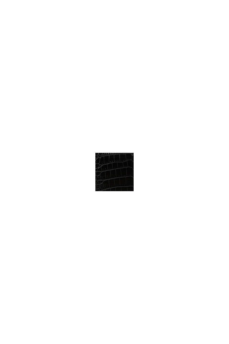 Vegansk: businessväska i skinnlook, BLACK, swatch