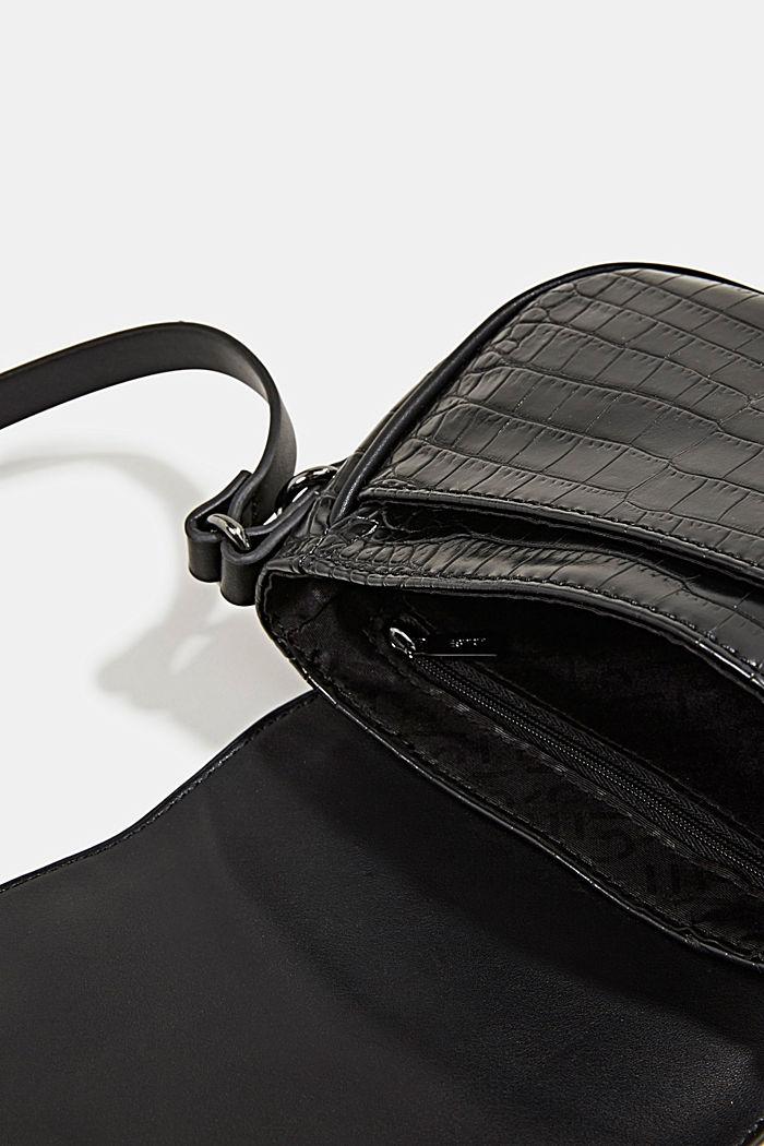 Susie T. shoulder bag, BLACK, detail image number 4