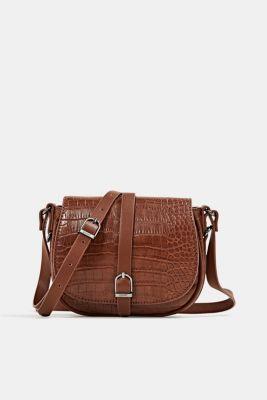 Susie T. shoulder bag, BROWN, detail