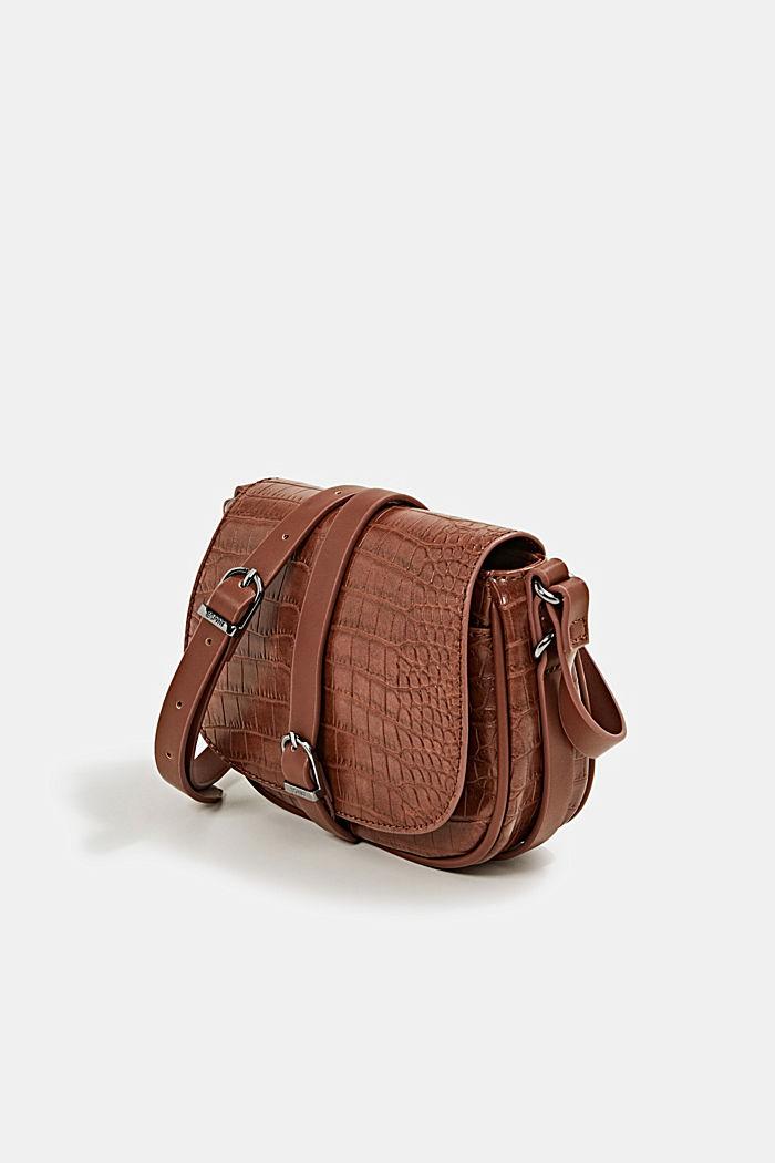Susie T. shoulder bag, BROWN, detail image number 2