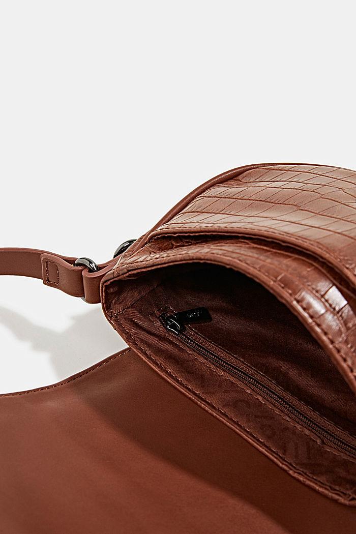 Susie T. shoulder bag, BROWN, detail image number 4