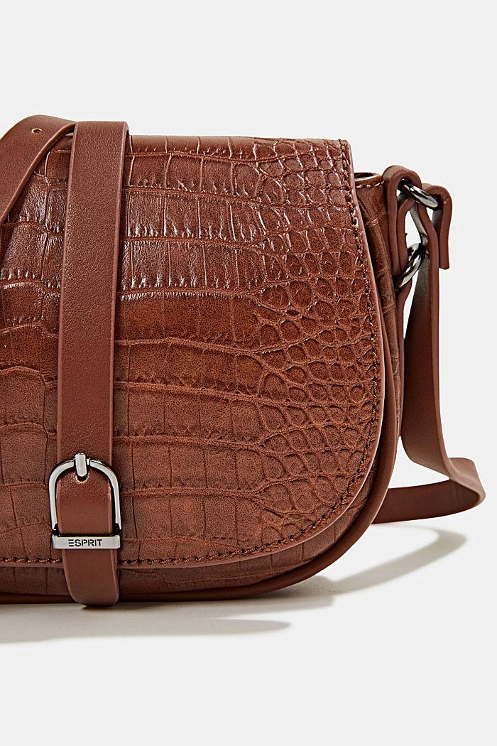 Susie T. shoulder bag, BROWN, detail image number 3