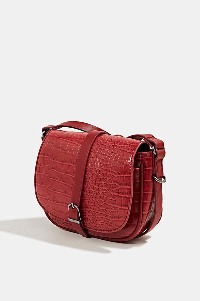 Susie T. shoulder bag, DARK RED, detail image number 2