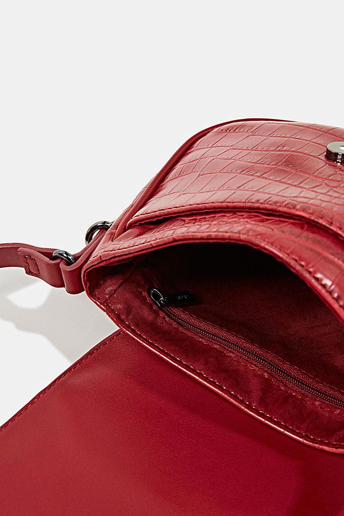 Susie T. shoulder bag, DARK RED, detail image number 4
